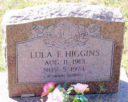 HIGGINS, LULA F. - Fluvanna County, Virginia   LULA F. HIGGINS - Virginia Gravestone Photos