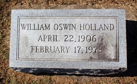 HOLLAND, WILLIAM OSWIN - Fluvanna County, Virginia   WILLIAM OSWIN HOLLAND - Virginia Gravestone Photos