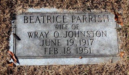 PARRIS JOHNSTON, BEATRICE - Fluvanna County, Virginia | BEATRICE PARRIS JOHNSTON - Virginia Gravestone Photos