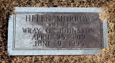 JOHNSTON, HELEN - Fluvanna County, Virginia | HELEN JOHNSTON - Virginia Gravestone Photos