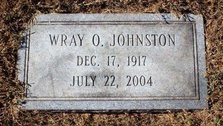 JOHNSTON, WRAY O. - Fluvanna County, Virginia | WRAY O. JOHNSTON - Virginia Gravestone Photos
