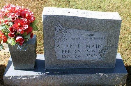 MAIN, ALAN P. - Fluvanna County, Virginia   ALAN P. MAIN - Virginia Gravestone Photos