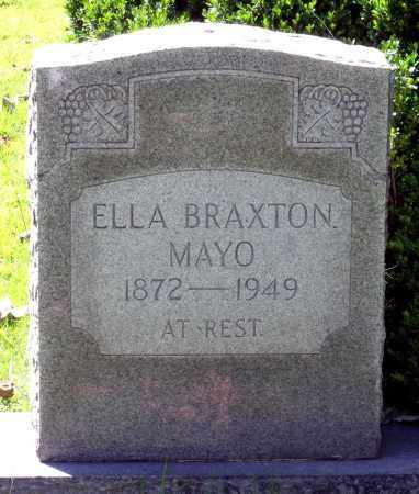 BRAXTON MAYO, ELLA - Fluvanna County, Virginia | ELLA BRAXTON MAYO - Virginia Gravestone Photos