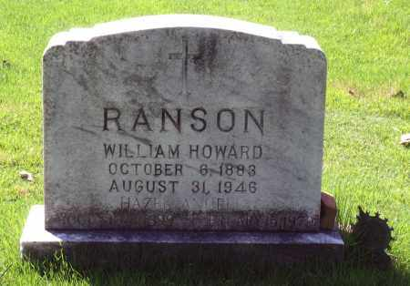 RANSON, WILLIAM HOWARD - Fluvanna County, Virginia | WILLIAM HOWARD RANSON - Virginia Gravestone Photos