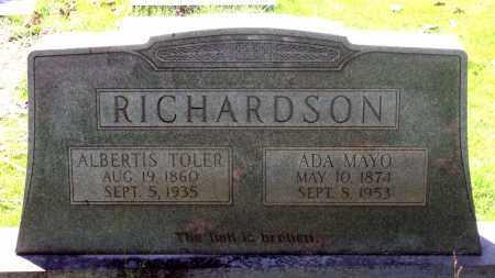 MAYO RICHARDSON, ADA - Fluvanna County, Virginia | ADA MAYO RICHARDSON - Virginia Gravestone Photos