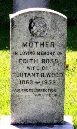 ROSS WOOD, EDITH - Fluvanna County, Virginia   EDITH ROSS WOOD - Virginia Gravestone Photos