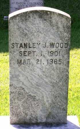 WOOD, STANLEY J. - Fluvanna County, Virginia | STANLEY J. WOOD - Virginia Gravestone Photos