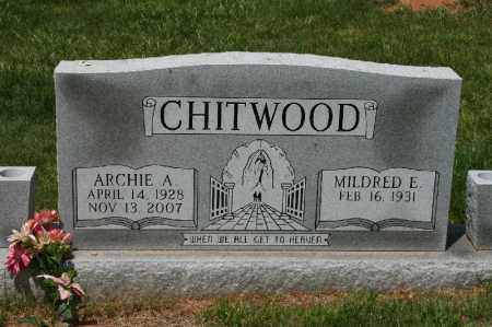 CHITWOOD, ARCHIE - Franklin County, Virginia | ARCHIE CHITWOOD - Virginia Gravestone Photos