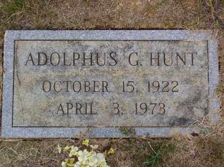 HUNT, ADOLPHUS GORDON - Franklin County, Virginia | ADOLPHUS GORDON HUNT - Virginia Gravestone Photos