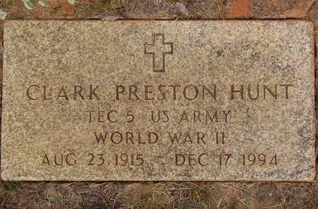 HUNT, CLARK PRESTON - Franklin County, Virginia | CLARK PRESTON HUNT - Virginia Gravestone Photos