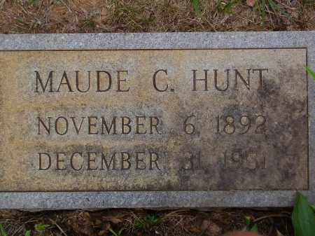 CUNDIFF HUNT, MAUDE - Franklin County, Virginia | MAUDE CUNDIFF HUNT - Virginia Gravestone Photos