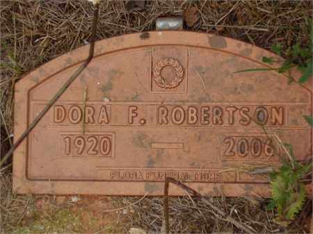 ROBERTSON, DORA FRANCES - Franklin County, Virginia   DORA FRANCES ROBERTSON - Virginia Gravestone Photos