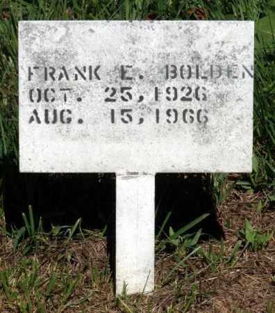 BOLDEN, FRANK E. - Gloucester County, Virginia | FRANK E. BOLDEN - Virginia Gravestone Photos