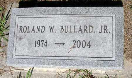 BULLARD, ROLAND W., JR. - Gloucester County, Virginia   ROLAND W., JR. BULLARD - Virginia Gravestone Photos