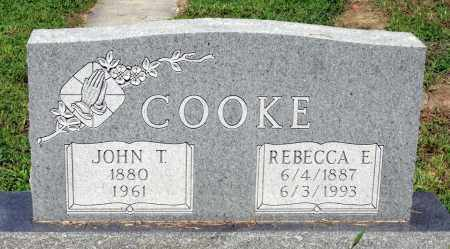 COOKE, REBECCA E. - Gloucester County, Virginia | REBECCA E. COOKE - Virginia Gravestone Photos