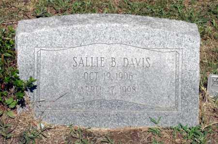 DAVIS, SALLIE B. - Gloucester County, Virginia | SALLIE B. DAVIS - Virginia Gravestone Photos