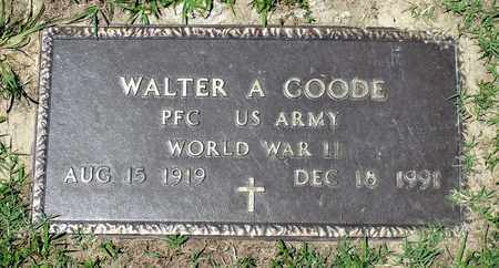 GOODE, WALTER A. - Gloucester County, Virginia | WALTER A. GOODE - Virginia Gravestone Photos