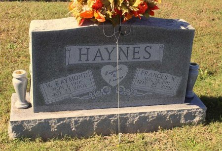 HAYNES, FRANCES W. - Gloucester County, Virginia | FRANCES W. HAYNES - Virginia Gravestone Photos