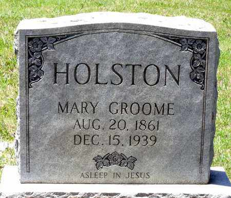 HOLSTON, MARY - Gloucester County, Virginia | MARY HOLSTON - Virginia Gravestone Photos