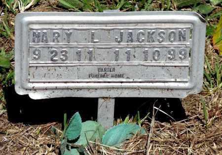 JACKSON, MARY L. - Gloucester County, Virginia | MARY L. JACKSON - Virginia Gravestone Photos