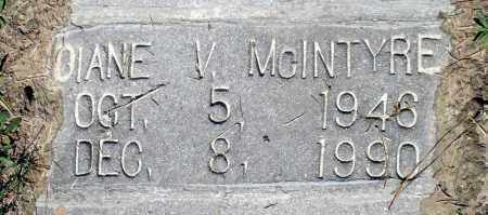 MCINTYRE, DIANE V. - Gloucester County, Virginia | DIANE V. MCINTYRE - Virginia Gravestone Photos
