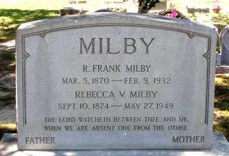 MILBY, ROBERT FRANK - Gloucester County, Virginia | ROBERT FRANK MILBY - Virginia Gravestone Photos