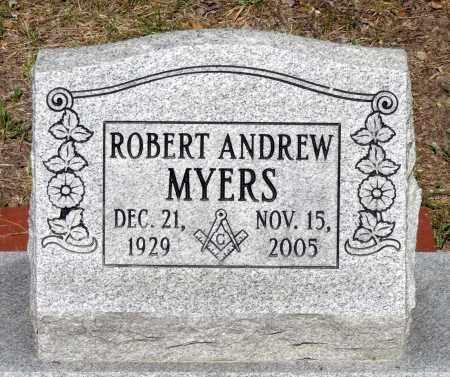 MYERS, ROBERT ANDREW - Gloucester County, Virginia | ROBERT ANDREW MYERS - Virginia Gravestone Photos