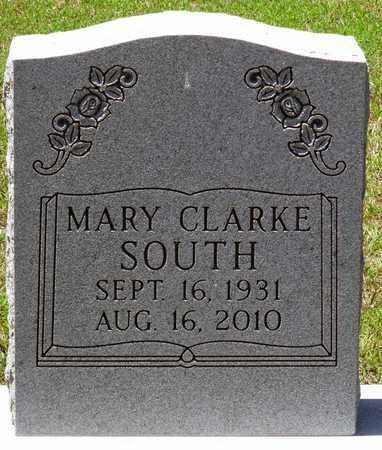 CLARKE SOUTH, MARY - Gloucester County, Virginia | MARY CLARKE SOUTH - Virginia Gravestone Photos