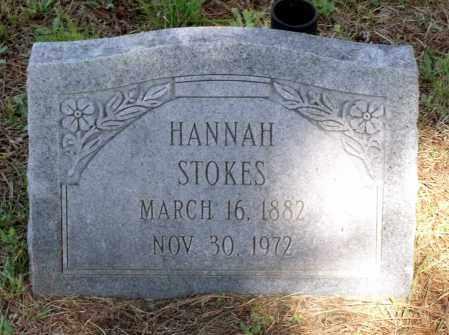 STOKES, HANNAH - Gloucester County, Virginia | HANNAH STOKES - Virginia Gravestone Photos