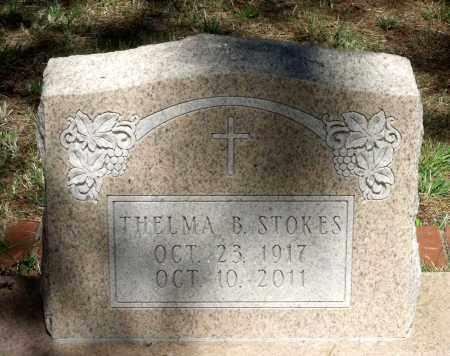STOKES, THELMA B. - Gloucester County, Virginia | THELMA B. STOKES - Virginia Gravestone Photos