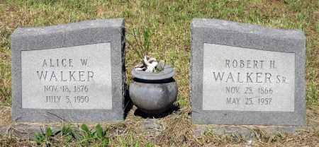 WALKER, ALICE W. - Gloucester County, Virginia   ALICE W. WALKER - Virginia Gravestone Photos