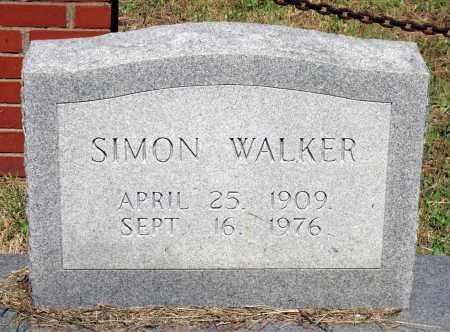 WALKER, SIMON - Gloucester County, Virginia   SIMON WALKER - Virginia Gravestone Photos