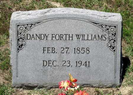 WILLIAMS, DANDY FORTH - Gloucester County, Virginia   DANDY FORTH WILLIAMS - Virginia Gravestone Photos
