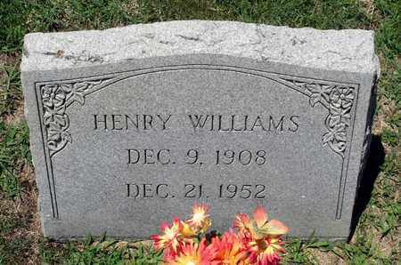 WILLIAMS, HENRY - Gloucester County, Virginia | HENRY WILLIAMS - Virginia Gravestone Photos