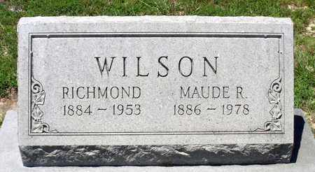 WILSON, RICHMOND - Gloucester County, Virginia | RICHMOND WILSON - Virginia Gravestone Photos