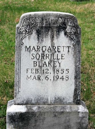 SORRILLE BLAKEY, MARGARETT - Greene County, Virginia | MARGARETT SORRILLE BLAKEY - Virginia Gravestone Photos