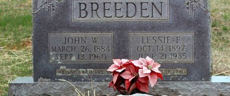 BREEDEN, LESSIE F. - Greene County, Virginia | LESSIE F. BREEDEN - Virginia Gravestone Photos