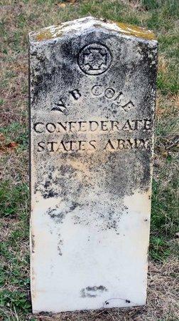 COLE, WILLIAM B. - Greene County, Virginia   WILLIAM B. COLE - Virginia Gravestone Photos