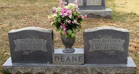 DEANE, IDA - Greene County, Virginia | IDA DEANE - Virginia Gravestone Photos