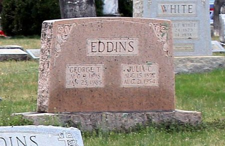 EDDINS, GEORGE T. - Greene County, Virginia | GEORGE T. EDDINS - Virginia Gravestone Photos