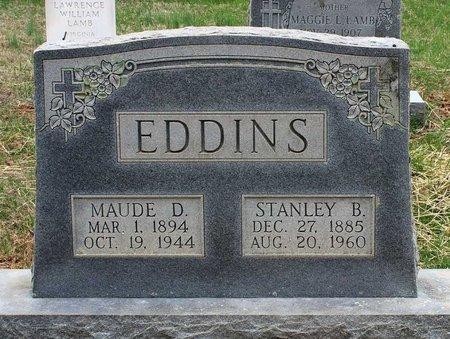 EDDINS, STANLEY B. - Greene County, Virginia | STANLEY B. EDDINS - Virginia Gravestone Photos