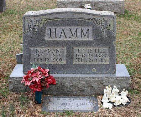 HAMM, EFFIE LEE - Greene County, Virginia | EFFIE LEE HAMM - Virginia Gravestone Photos