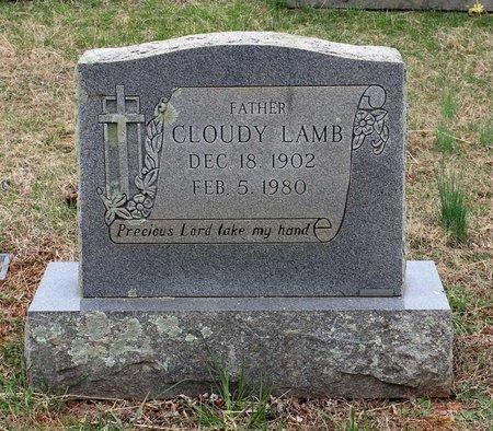 LAMB, CLOUDY - Greene County, Virginia   CLOUDY LAMB - Virginia Gravestone Photos