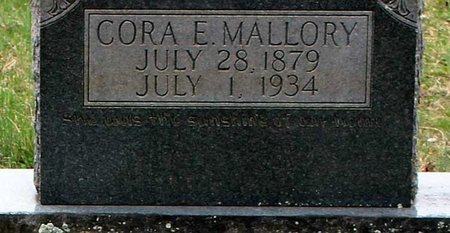MALLORY, CORA E. - Greene County, Virginia | CORA E. MALLORY - Virginia Gravestone Photos
