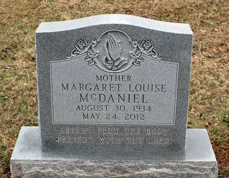 MCDANIEL, MARGARET LOUIS - Greene County, Virginia | MARGARET LOUIS MCDANIEL - Virginia Gravestone Photos