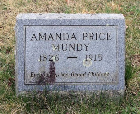 PRICE MUNDY, AMANDA - Greene County, Virginia | AMANDA PRICE MUNDY - Virginia Gravestone Photos