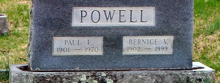 POWELL, PAUL E. - Greene County, Virginia | PAUL E. POWELL - Virginia Gravestone Photos