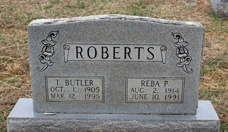 ROBERTS, REBA P. - Greene County, Virginia | REBA P. ROBERTS - Virginia Gravestone Photos