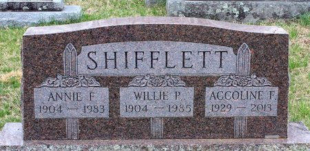 SHIFFLETT, ACCOLINE F. - Greene County, Virginia | ACCOLINE F. SHIFFLETT - Virginia Gravestone Photos