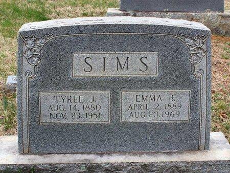 SIMS, EMMA B. - Greene County, Virginia | EMMA B. SIMS - Virginia Gravestone Photos